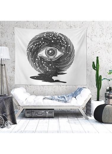 Eponj Home Tapestry Duvar Örtüsü 120x145 cm Deep Siyah Siyah